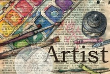 Art Supplies, Needlecrafts & Tutorials / by Anne Berbling
