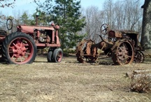 old tractors / by Ron Moyers