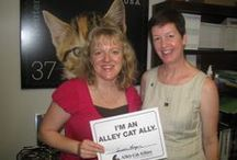 Becky on the road... / As President of Alley Cat Allies, I often travel to raise awareness about our mission. / by Becky Robinson