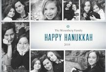 Hanukkah Cards / Wish your loved ones a Happy Hanukkah with a custom Hanukkah Card from 123Print. For a limited time, take 40% off all holiday cards when you use code JINGLE at checkout. / by 123Print – Personalized Online Printing
