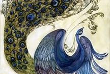 ¡Peacock Pristine! / A place for my favorite creatures and the art they inspire / by JenMcPenn The Fabulous