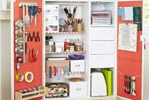 Organizing & Storage designs / ways to get/keep it where it belongs / by Christina Cordell