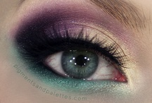 Beauty: Makeup Inspiration / Makeup ideas and eye shadow colors that I love. / by Sarah J. Smith