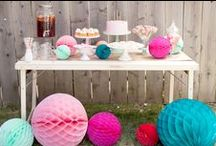 Candy, Cookie & Ice Cream Parties / by Courtney Price I Glamour Avenue Parties