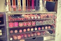 Beauty: Makeup/Beauty Organization / Fun ideas for organizing my makeup collection. / by Sarah J. Smith