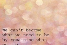 Good Quotes / by Emily Eddington