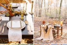 . autumnal wedding . / deep burgundy, golds and mustard yellows, oranges burnt and fiery, olive and sage green, the warmest chocolate browns.. The best time of year when the world sets of fire and puts of a show. The Harvest.  / by Katherine Fedele Dearborn