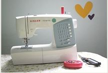 sewing. / by Whitney Neveils