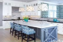 Blue & White: Kitchen & Bath / by Kitchen Resource Direct