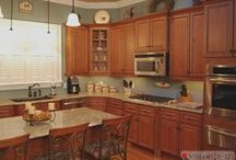 Kingsbury RTA Cabinets / Cabinets from our Kingsbury line, come ready to assemble. / by Kitchen Resource Direct