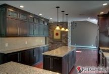 Jasper RTA Cabinets / Cabinets from our Ready to Assemble Jasper line / by Kitchen Resource Direct