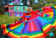 Clothed in rainbows / by Nancy