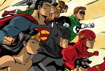 Tights & Flights / Superheroes / by BEWsomething