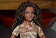 Black (AA) Barbies / Barbies that are African-American / by Shina J