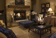Fireplaces / by AtWell Staged Home
