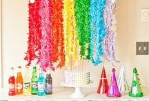 Rainbow Party Theme / by Lisa Frank