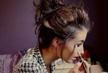 Hair and Make-Up (: / by Sarah Benedict