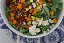 EAT   veggies + salads / by Lisa Frank