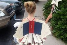 Upcycled Books / No old books to landfills! / by Debra Eve | LaterBloomer.com