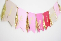 Gold + Pink Party / by Lisa Frank