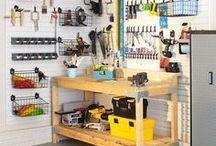 Garage Organizing / by Bobbie Nelson