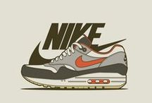 Nike Art / Artwork created for Nike advertising campaigns and/or for fun / by Bobby Anderson