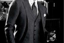 Classic Men's Style / by Skarlet Von Troubles