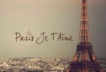 PARIS / J'adore Paris ! / by Elena Pérez