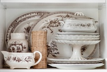 Cupboards & China / by Susan Clickner