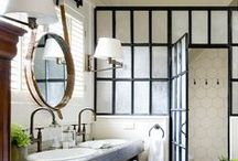 Bath Chambers & Water Closets / Simple and elegant rooms / by Susan Clickner