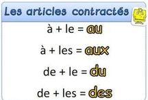 Grammaire française / by Elena Pérez