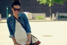 Expecting Mom Style / Maternity fashion, diaper bags, accessories / by Nicole Feliciano