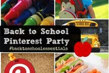 Back to School Essentials / Everything you need to make this the best #BacktoSchool season ever. Get the details here on the #BacktoSchoolEssentials contest http://www.momtrends.com/2013/09/backtoschoolessentials-pin-party/ / by Nicole Feliciano