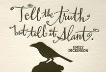 Typography / by Kristin Robinson