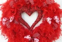Valentine wreaths / by Tina Townley
