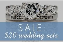 $20 Wedding Set Sale / by Inspired Silver
