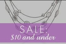 $10 or Less Sale / by Inspired Silver