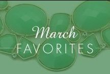 March Favorites! / Our Favorite picks from Inspired SIlver / by Inspired Silver