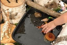 Outdoors / Get them outside!  / by Sheryl @ Teaching 2 and 3 Year Olds