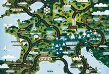 Love: Maps / by Rebekah Kik