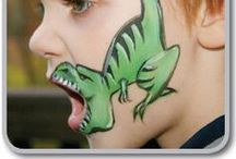 kid's face paint ideas / by Trina Holden