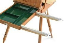 Plein Air Stuff / Cheap Joe's Art Stuff offers a variety of artist easels, travel brushes and art paint sets designed for artists who love to work outdoors, in plein air. / by Cheap Joe's Art Stuff