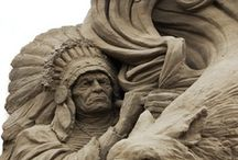 Sculpture / Ice sculpture, sand sculpture, wood sculpture from around the world / by Phil Scheen