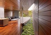 Contemporary Residential Architecture / Minimal, modern, contemporary home design / by Angela McKenzie