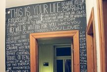 Craft_Chalkboard Choices / by Karen Sermersheim