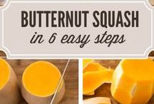 Butternut Squash / Butternut squash is a fall favorite. Check out these recipes for soups, salads, cakes, cookies, and other fabulous foods featuring butternut squash. You'll find all types of recipes: Gluten Free, Vegan, Whole Foods, Paleo, and Primal Butternut Squash Recipes / by The Tomato Tart