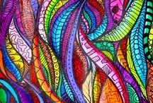All Tangeled UP - Zen tangleing & Doodling :) / Love to doodle..love to draw - journal each day what you saw!! The creative expression of putting my thoughts to paper surrounded by art is fulfilling in a way that just simply... feeds my soul!  Love color... the blending of colors intricate shapes and forms ahhhhh.....yes!!!  / by Lee B
