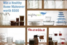 Healthy Home Makeover / When it comes to choosing safe products for your home, it can sometimes feel overwhelming or at least daunting. With small changes, or one room at a time, a healthy home makeover is simplified. / by MightyNest
