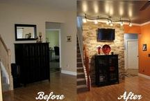Before & After / Home Renovations / by Theresa Driska