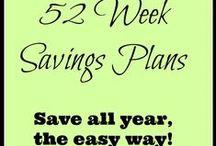 52 Weeks Savings Plan / by The Survival Mom